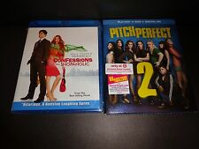 CONFESSIONS OF A SHOPAHOLIC & PITCH PERFECT 2/w DIG HD code to 5-2-16-Two movies