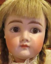 "Antique 17 1/2"" Closed Mouth Pouty Kestner Bisque Doll on Orig Early Body"