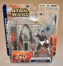 Star Wars Clone Trooper With Speed Bike Clone Wars Army Of The Republic New 2003