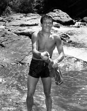 8x10 Print William Holden Bridge over the RIver Kwai 1957 #WH993