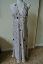 Anthropologie HD IN PARIS Spring Bulbs Racerback Maxi Dress 2 NWOT$189 Sexy!