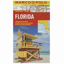 Marco Polo Holiday Maps: Florida Marco Polo Holiday Map by Marco Polo (2013,...