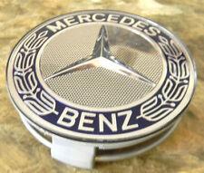 Mercedes Radzierdeckel Raddeckel Wheel Cap Deckel W212 Royalblau W221 W207 Chrom