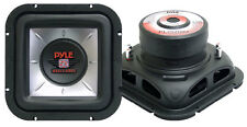 1 New Pyle PLSQ10D 10'' 1200 Watt  Square DVC Subwoofer Sub Car Audio