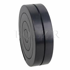 "Black 4.5"" Round Clay Pottery Rotary Plate 360 Degree Rotating Sculpture Tool"