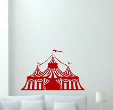 Circus Tent Wall Decal Nursery Decor Kids Vinyl Sticker Art Poster Mural 264xxx
