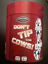 DON'T TIP THE COWS - THE UDDERLY FUN STACKING GAME FAMILY FRONT PORCH CLASSICS