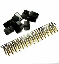 RC Futaba Set Male Connector Plug Gold Plated 3 Pin 10