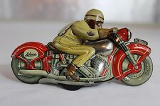 Antique SCHUCO MOTODRILL 1006 TIN TOY WIND UP MOTORCYCLE No Arnold Tippco #2