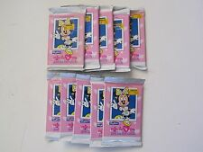 SkyBox Minnie & Me Just For Fun Cards TRADING CARD PACKS 1992 Set Of 10