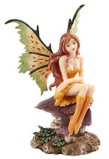 Amy Brown Fantasy Little Mae Faerie Mushroom Fairy Statue Enchanted Figurine