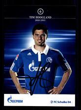 Tim Hoogland Autogrammkarte Schalke 04 2010-11  Original Signiert  +A 79410
