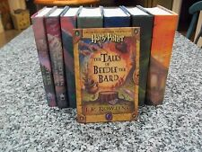 Harry Potter Complete Set Hardcover Books 1-7,  First Editions JK Rowling