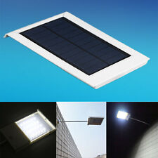 24 LED Ultra-thin Waterproof Solar Sensor Wall Street Light Outdoor Lamp BK