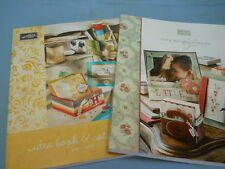2 Stampin' Up Idea Book & Catalog 2007 & 2010 Over 450 Pages of Ideas