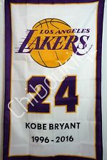 Kobe Bryant Los Angeles Lakers LARGE 3x5 polyester poster banner