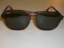 1980's B&L RAY BAN G15 UV MOCK TORTOISE STATESIDE TRADITIONALS SUNGASSES w/CASE