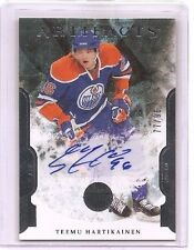 Teemu Hartikainen 2011-12 Upper Deck Artifacts RC Auto 77/99