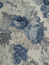 Tessa Proudfoot for St. Leger & Viney Fabrics ~ 'Isabella' 5.1 METRES Inky Sea