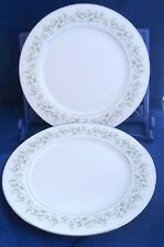 "Noritake China Dinner Plate 10 1/2"" set of 2, Savannah Replacement Pieces 2031"