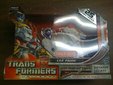 Transformers Universe Leo Prime Target EX  Voyager Class NEW FREE SHIP US