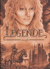 LEGENDE tome 6 tirage limité ANGOULEME 2013 Swolfs BD