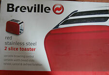 Nueva Insignia De no VTT201 Rojo 2 de ancho grueso Rebanada Breville Tostadora recalentamiento descongelación.