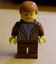 Lego Harry Potter - Onkel Vernon Dursley Figur Minifig Figuren Uncle braun Neu