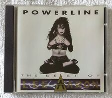 Lee Aaron - Powerline (The Best Of ) CD 1992 Attic Records, Made in Canada
