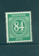 GERMANY ALLIED OCCUP. American British & Soviet  Z. 1946 Mi. 936a 84Pf