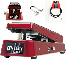 Dunlop Crybaby Slash SW95 Distortion/Wah Pedal - Two Free Cables & Free Shipping