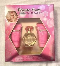 Britney Spears private show 3 Pc Gift Set EDP 1 oz Lotion shower Gel 1.7 oz