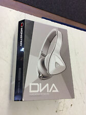 Gray/White Monster DNA Headband Headphones NEW IN BOX!!