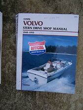 1968 -1993 Volvo Stern Drive Shop Manual Clymer Boat Engine MORE IN OUR STORE  U
