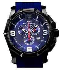 AQUASWISS Men's Vessel XG Navy Blue Brand New Day/Date Swiss Watch-List $1,600