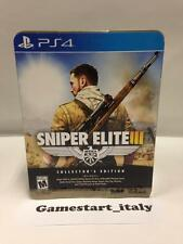 SNIPER ELITE III 3 COLLECTOR'S EDITION (SONY PS4) NUOVO SIGILLATO NEW SEALED