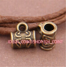 P478 40pcs Antique Bronze Charms Pendant Hanger Bails Necklace Connector