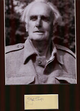 JOHN LAURIE DADS ARMY PRIVATE FRASER AUTHENTIC SIGNED AUTOGRAPH DISPLAY UACC