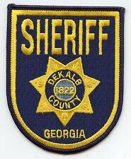 DEKALB COUNTY GEORGIA GA SHERIFF POLICE PATCH