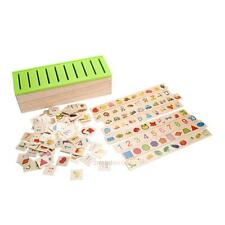 Wooden Classification Box Kids Child Early Educational Cognitive Puzzle Toy Gift