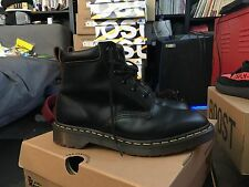 Supreme x Doc / Dr. Martens Black 6 Eye Boot Size 9