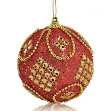 8CM Glitter Christmas Balls Baubles Xmas Tree Hanging Ornament Christmas Decor