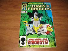 The Transformers #8 (Sep 1985, Marvel) 1st app Dinobots