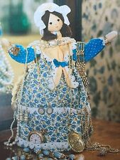 SEWING PATTERN Jean Greenhowe Lady's Maid Lady Jewellery Holder 29cm tall RARE