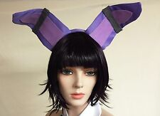 Bonnie Five Nights at Freddy's Cosplay Costume FNAF Purple Bunny Ears