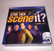 Star Trek Scene It? Game by Screen Life Games - 2009 Edition - 100% Complete!