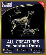 Animal Element All Creatures Detox 2# pet formula, joint support with magnesium