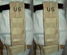 MOLLE DROP LEG EXTENDER TACTICAL THIGH RIG KNIFE HOLSTER IFAK USGI DCU SET of 2