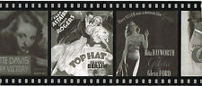 Black & White Hollywood Posters Old Movies Classic Film Strip Wall paper Border