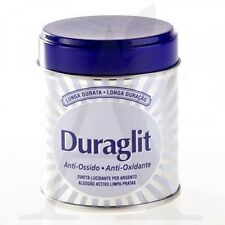 Duraglit Silver Cleaner 75g ( Silvo Brasso ) Tarnish Guard Wadding Metal Polish